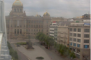 Preview webcam image Prague - Wenceslas Square