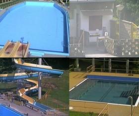 Preview webcam image Rusava - swimming pool
