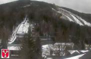 Preview webcam image Harrachov - ski jumps