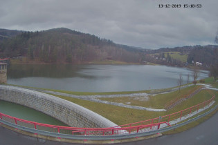Preview webcam image Bystřička dam