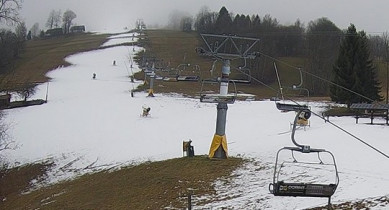 Preview webcam image Ski resort Paseky nad Jizerou