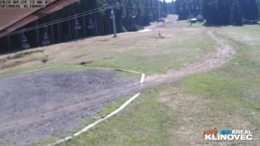 Preview webcam image Ski Klínovec