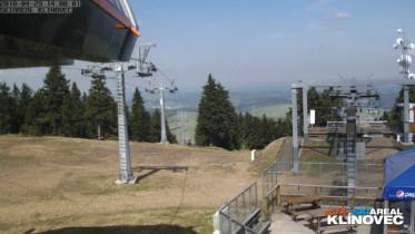 Preview webcam image Klínovec - cableway
