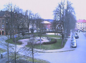 Preview webcam image Semily - Rieger Square