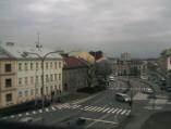 Preview webcam image Kroměříž - Husovo náměstí