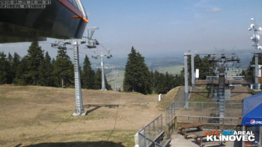 Preview webcam image Skiresort Klinovec - Cinestar Express