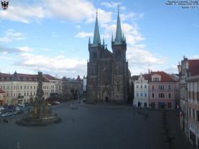 Preview webcam image Chrudim - Resselovo square