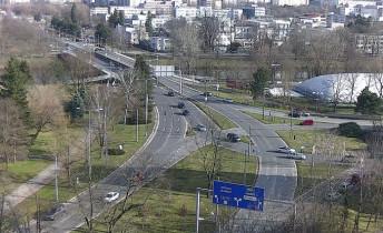 Preview webcam image Hradec Králové - junction U soutoku