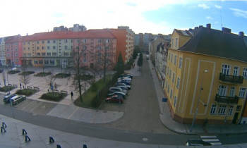 Preview webcam image Bohumín -square T. G. Masaryka