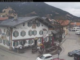 Preview webcam image Oberammergau - Hotel Alte Post