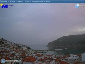 Preview webcam image Chora Skopelos