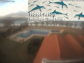Preview webcam image Kolymvari - Hotel Arion