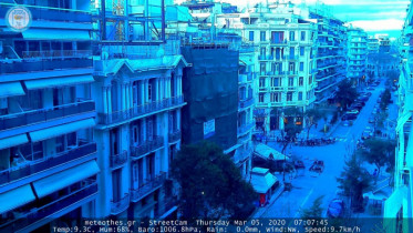 Preview webcam image Thessaloniki
