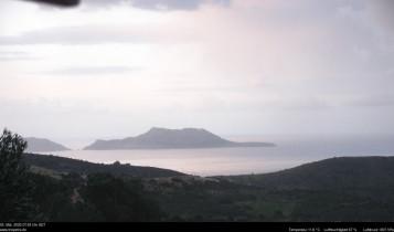 Preview webcam image Triopetra - Paximadi Islands