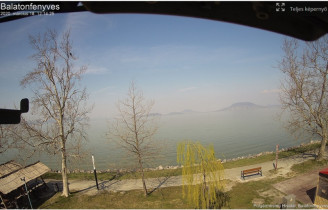 Preview webcam image Balatonfenyves