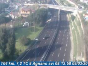 Preview webcam image Agnano - Traffic T04 - KM 007,2