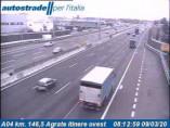 Preview webcam image Agrate Brianza - Traffic A04 - KM 147