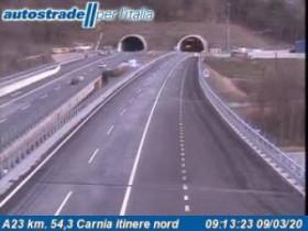 Preview webcam image Alesso - Traffic A23 - KM 54,3