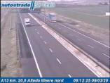 Preview webcam image Altedo - Traffic A13 - KM 20,0