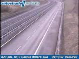 Preview webcam image Amaro - Traffic A23 - KM 61,0