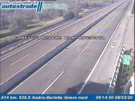 Preview webcam image Andria - Traffic A14 - KM 628,8