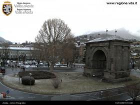Preview webcam image Aosta - Arco d'Augusto