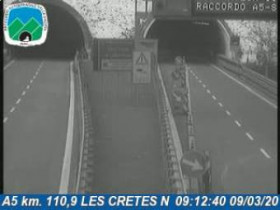 Preview webcam image Aosta - Traffic A5 - KM 110,9