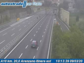 Preview webcam image Arenzano - Traffic A10 - KM 20,0