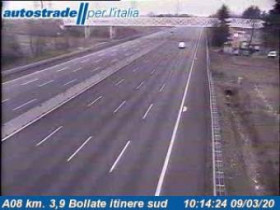 Preview webcam image Arese - Traffic A08 - KM 3,9
