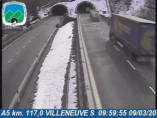 Preview webcam image Arvier - Traffic A5 - KM 117,0