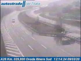 Preview webcam image Belforte Monferrato - A26 - KM 29,8