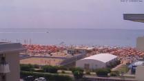 Preview webcam image Bibione - beach