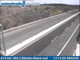 Preview webcam image Bitonto - A14 - KM 660,2