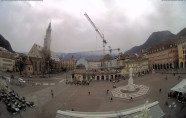 Preview webcam image Bolzano - Piazza Walther