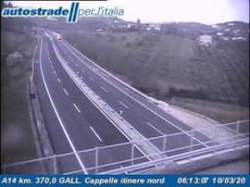 Preview webcam image Cappelle Sul Tavo - A14 - KM 370,0