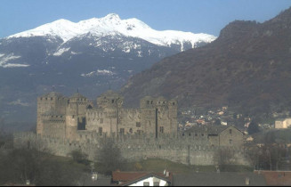 Preview webcam image Castle of Fenis