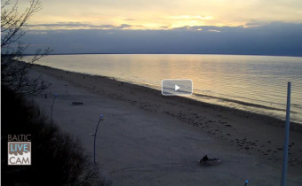 Preview webcam image Jurmala - Majori Beach