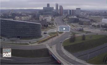 Preview webcam image Vilnius - panorama