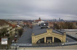 Preview webcam image Vilnius - Hale Market