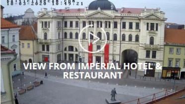 Preview webcam image Vilnius - Hotel Restaurant