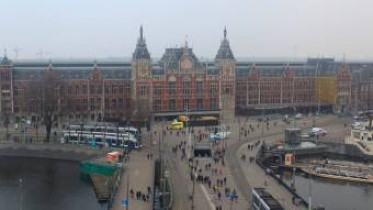 Preview webcam image Amsterdam - Central Station
