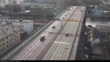 Preview webcam image Bergen - Puddefjordsbroen