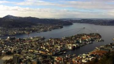 Preview webcam image Bergen - Fløyen