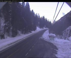 Preview webcam image Svartdal - E134