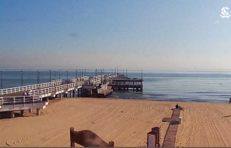 Preview webcam image Gdansk - beach