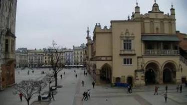 Preview webcam image Krakow - Main Market - Rynek Główny