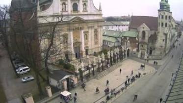 Preview webcam image Krakow - Hotel Senacki
