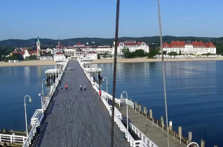 Preview webcam image Sopot - pier