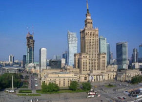 Preview webcam image Warsaw - square Defilad