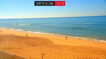 Preview webcam image Faro - beach